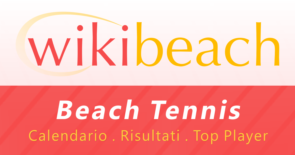 Fit Calendario Tornei.Calendario Completo E Risultati Tornei Di Beach Tennis